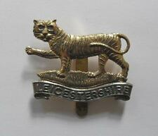 BRITISH ARMY CAP BADGE. THE LEICESTERSHIRE REGIMENT ( 4th., 5th. & 6th. Bns. ).