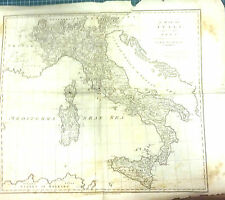 "1706 LONDON PUBLISHED""CARTINA DELL'ITALIA""INCISIONE SU RAME"