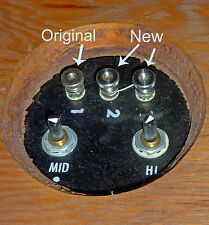 NEW SS SPEAKER TERMINAL NUT KLH, BOSE, ADS, AR, ADVENT, BRAUN, HEATHKIT