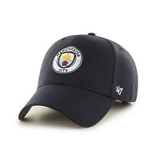 47 BRAND NEW Manchester City FC Cap Navy Blue MVP BNWT