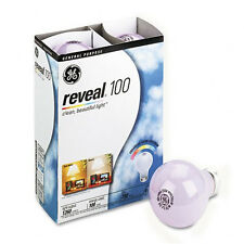 100 W -  GE REVEAL LIGHT BULB - 100 watt     *** 1  CASES of  48  ***  # 48690