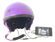 KOKKIA SportHelmet (Black) : Helmet Earphones + Mic and Remote for Samsung , etc