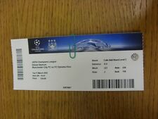 15/03/2016 Ticket: Manchester City v Dynamo Kiev [Champions League] . Thanks for