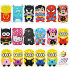 Cute Cartoon Shockproof Silicone Case For Samsung Galaxy Tab 3 Tab 4 7.0 Tablet