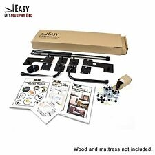 Queen-Size DIY Murphy Wall Bed Hardware Kit Horizontal Wall Mount (Sideways)