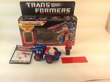 Vintage 1986 Transformers G1 Targetmaster Crosshairs Complete/Boxed