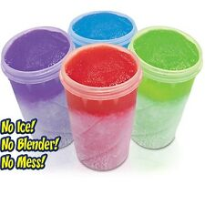 Super Granizado Copa Funciona como magia hace Slushy en Min Slushy Maker As Seen On Tv