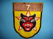 VIETNAM WAR SHOULDER YE PATCH ARVN 7th RANGER BATTALION