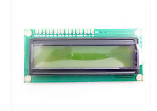 1602 16x2 HD44780 Character LCD Display Module LCM Yellow backlight NEW