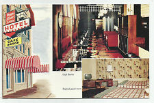 Royal Albert Arms Hotel, Cafe Baron, Winnipeg, Manitoba, Canada, 1960s Postcard