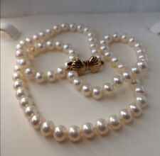 Blue Lagoon By Mikimoto Akoya Pearl Necklace 14k Clasp