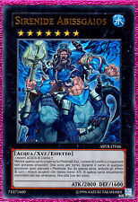 SIRENIDE ABISSGAIOS Mermail Abyssgaios ABYR-IT046 Ultra Rara in Italiano YUGIOH