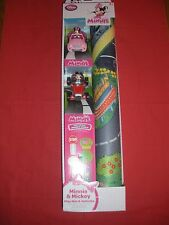 MINNIE AND MICKEY PLAY MAT & VEHICLE/CAR  SET DISNEY STORE EXCLUSIVE AGE 3+ NEW