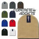 CABLE BEANIES Knit Skull Cap Uncuffed Short Beanie Hat Hats Snowboard Ski NEW