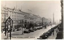 Dublin Upper O'Connell Street Motor Cars RP old pc Signal Series
