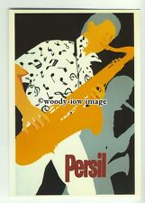 ad0372 - Persil - Persil Poster , Saxophonist - Modern Advert Postcard