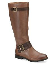 Montana Gavyn Size 8M Tan Leather Riding Boots