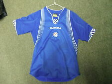 Dinamo zagreb 11/12 ans grand garçons 152cm home football shirt