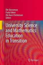 University Science and Mathematics Education in Transition (2010, Paperback)