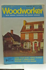 Woodworker Magazine. October, 1975. Volume 79, number 983. Caning Chair Seats
