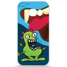 Coque Housse Etui Samsung Galaxy S7 à motif Silicone Gel - Monstre happy