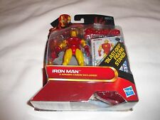 "HASBRO IRON MAN 2 COMIC SERIES IRON MAN IRON MAN  #26 3.75"" MARVEL"