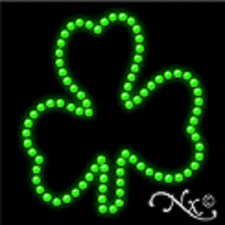 NEW SHAMROCK LOGO 15x15 SOLID/ANIMATED LED SIGN w/CUSTOM OPTIONS 22349