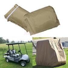 2 Passenger Waterproof Heavy Duty Golf Cart Buggy Golfcar Storage UV Cover