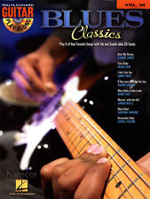 Blues Classics Guitar Play-Along Volume 95 TAB Book with Playalong CD Jam Play