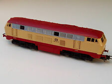 LIMA HO DB BR 212 217-8 DIESELLOK BEIGE/ROT ANALOG - MADE IN ITALY GUTER ZUSTAND
