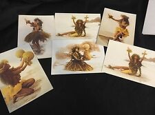 VTG 1995 ISLAND HERITAGE COLLECTION Greeting Cards Set Of 6