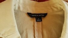 brand New Tommy hilfiger cotton jacket beige  Size 2 US/8 UK