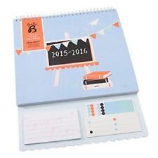 Busy b academic année scolaire calendrier août août 2015-16 avec autocollants mensuel
