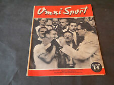 OMNI-SPORT N°23 DE1946 COURSE A PIED LOUIS CHAILLOT CHAMPION DE FRANCE DEMI-FOND