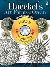 Dover Electronic Clip Art: Haeckel's Art Forms from the Ocean CD-ROM and Book...