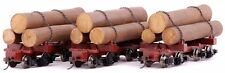 Bachmann On30 Scale Train Logging Skeleton Logs (3 per box) 27391