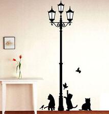 Wandaufkleber Katzen Licht Playroom Schlafzimmer Wanddeko Wandtatoos Sticker