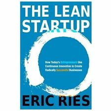 The Lean Startup by Eric Ries (Brand New, Hardcover with Dust Jacket)