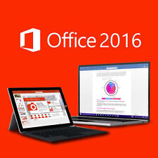 Microsoft Office 2016 Home and Business Windows English PC