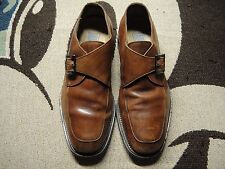 Mercanti Fiorentini Lucky Men US 11 Brown Belt Oxford Pre Owned Blemish  1922