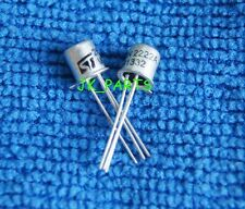 10pcs New NPN Transistor 2N2222A 2N2222 TO-18 CAN-3