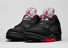 "Nike Air Jordan 5 Retro Low UK 6 / EUR40 (819171 001) Brand New Boxed ""DS"""