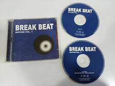 BREAK BEAT NATION VOL 1 - 2 X CD 2001 SPANISH ED VIRGIN HOUSE DANCE TECHNO