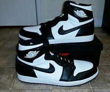 Nike Air Jordan Retro 1 High OG Blk/Wht MEN'S Sz 17 NEW!! 555088 010 OVO XII VII