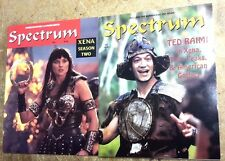 1997/98 SPECTRUM Magazine #10 & 12 Set of 2-  Special Xena Issues-FREE S&H