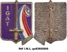 Inspection Générale Armée de Terre, écu, sigle I.G.A.T. D.Noisiel (4144)(4779)