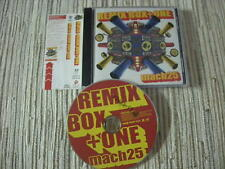 CD J-POP MACH25 - REMIX BOX + ONE - JAPAN POP MUSIC USADO BUEN ESTADO