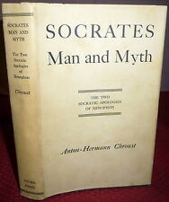 Socrates -  Man and Myth, Anton-Hermann Chroust SGND, Xenophon. Greek Philosophy