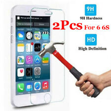 """2Pcs Genuine Tempered Glass Film for Apple iPhone 6 4.7"""" Screen Cover Protector"""