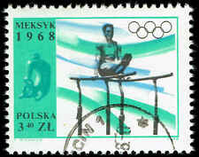 Scott # 1599 - 1968 - ' Athlete on Parallel Bars ', 19th Olumpic Games Mexico